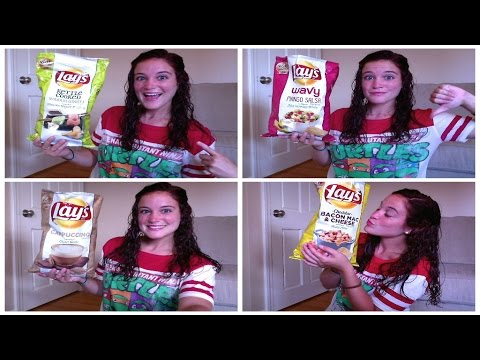 LAYS POTATO CHIP TASTE TEST 2014 REVIEW