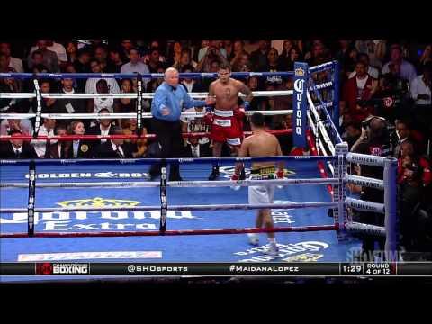 Maidana vs Lopez  Full Fight
