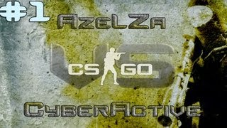 AzeLZa vs Cyberactive Counter Strike:Global Offensive 1v1 İLK MAÇ