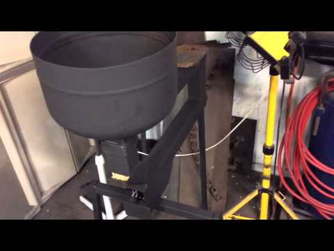 Gravity feed pellet stove details and walk around.