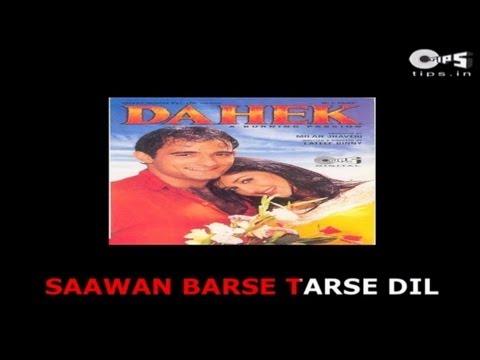 Saawan Barse Tarse Dil - Bollywood Sing Along - Dahek - Hariharan & Sadhana Sargam video
