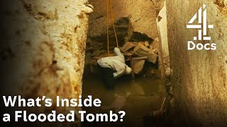 What's Inside a Flooded Tombs Burial Chamber?