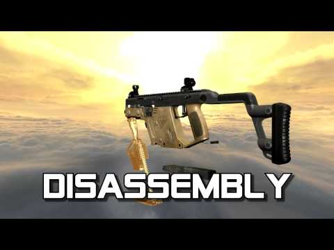 Kriss Vector .45 ACP (full disassembly and operation)