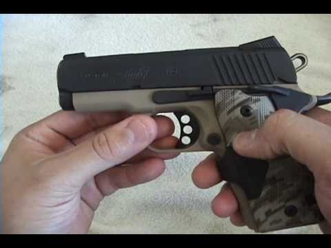 Kimber Ultra series 1911 Field stripping And Cleaning