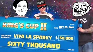 King's Cup 2 MOST HILARIOUS Funny Moments & Best PLAYS & Epic FAILS! | Clash Royale Montage