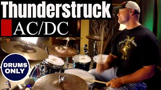 AC/DC - Thunderstruck (Isolated Drums Only / High Quality Audio) ⚫⚫⚫
