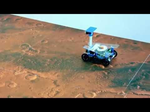 Mathworks : Mission on Mars Robot Challenge at Innorobo