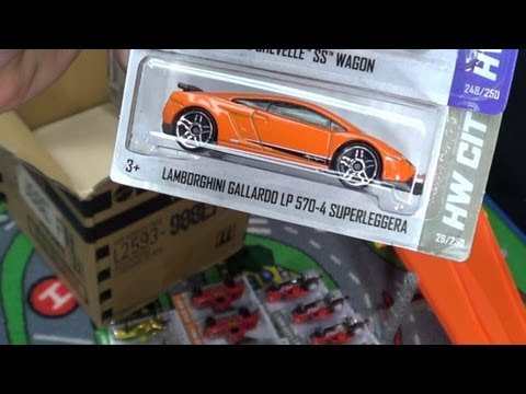 Hot Wheels Sealed Case EFH 2013 Case Code