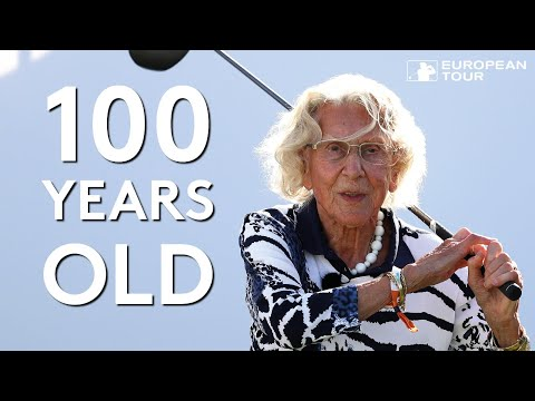 100-year-old golfer plays with European Tour stars