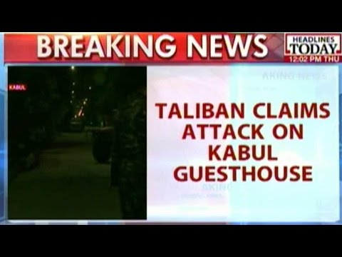 Taliban Claims Responsibility For Attack On Kabul Guesthouse
