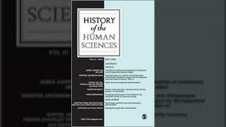 History of the Human Sciences   Wikipedia audio article