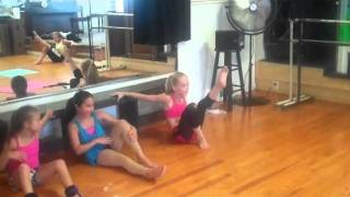 JCD+GA contortion clinic July 2011