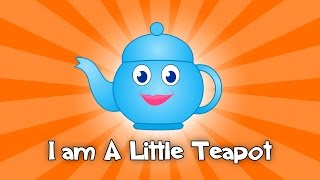 I Am a Little Teapot nursery rhyme | I