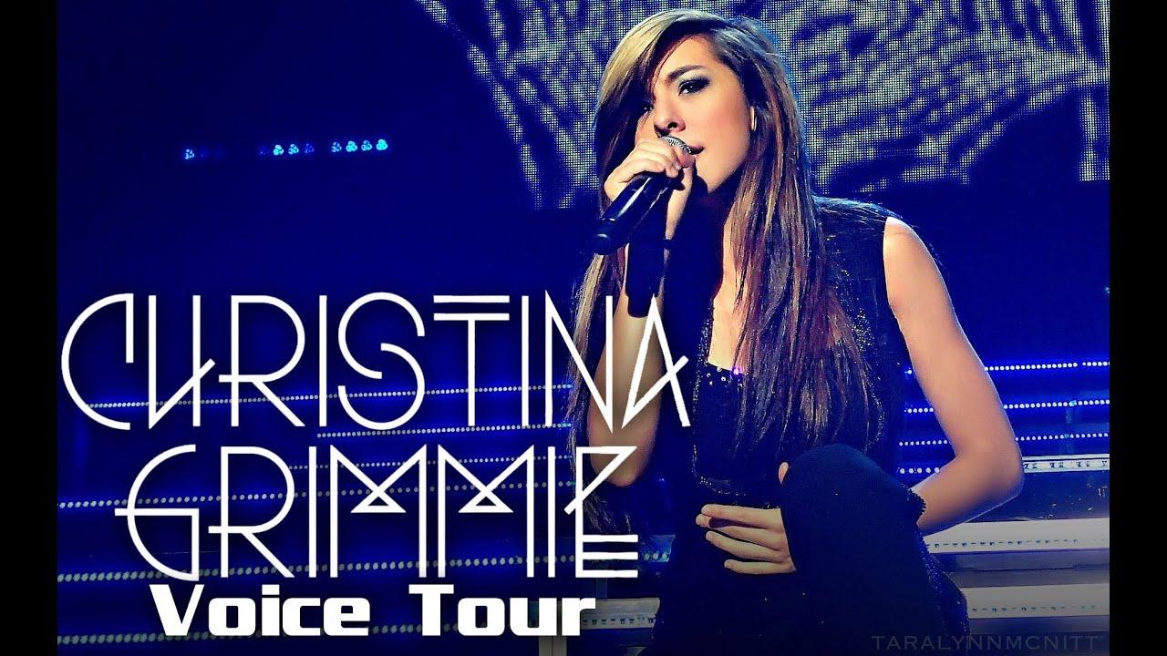 improvement grimmie voice tour vocal range eb3 d6