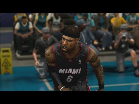 Lebron James in Desperation Mode to Get Heat the Victory - NBA 2K13 MY CAREER Live Commentary