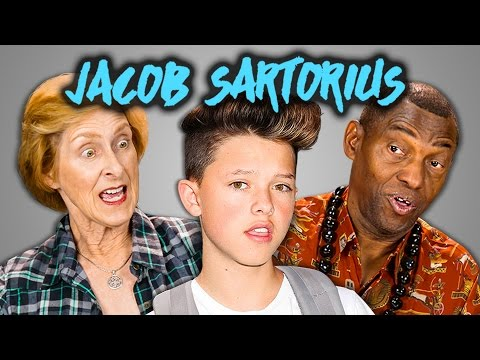 ELDERS REACT TO JACOB SARTORIUS (SWEATSHIRT & MUSICAL.LY COMPILATION)