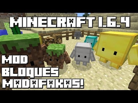 Minecraft 1.6.4 MOD BLOQUES MADAFAKAS