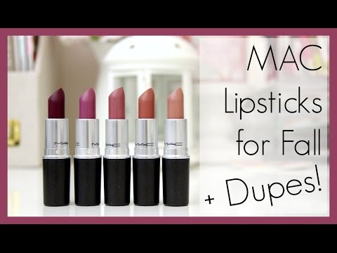 5 MAC Lipstick Dupes: Fall Edition | erisaxo