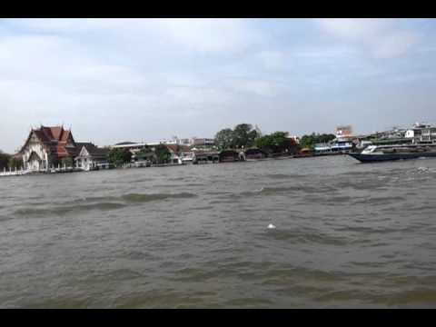 Tha Chang pier to Siriraj pier , Bangkok, Thailand