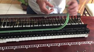 How to repair a Yamaha Clavinova CLP 860 with a loud and/or silent key