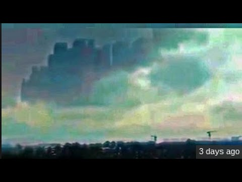 City Appears Above Jiangxi, China (From Another Dimension?)