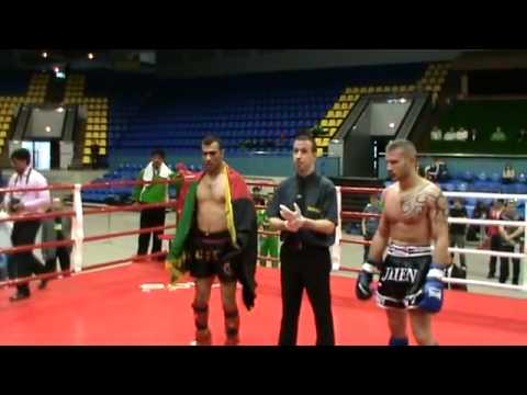 Afghan kickbox team