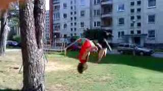 Parkour in Visaginas