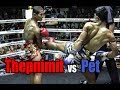 Muay Thai - Thepnimit vs Pet (เทพนิมิตร vs เพชร ), Phetchbuncha Samui Stadium, 30.12.12
