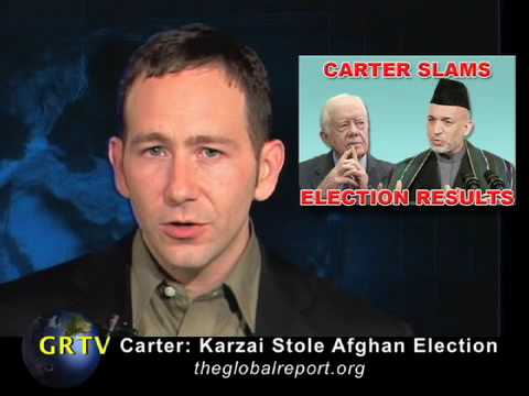 Carter: Karzai Stole Afghan Election