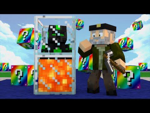 Minecraft: EMPEZAMOS FUERTE!! c/ sTaXx   RAINBOW Lucky Blocks Epic Race