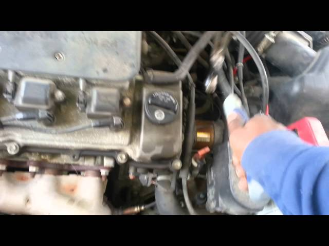 Toyota camry No start but Clicks - YouTube