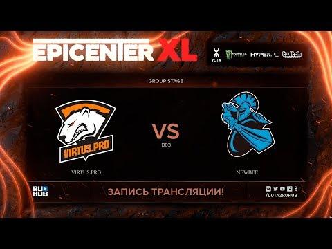 Virtus.pro vs NewBee, EPICENTER XL, game 2 [v1lat, godhunt]