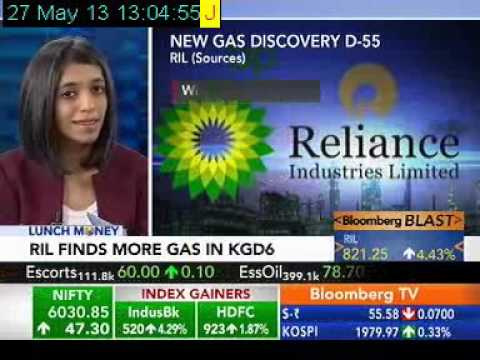 RIL's New KG-D6 Gas Discovery - Shailaja Sharma, Bloomberg TV India