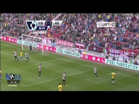 Sunderland 1-3 Arsenal - 14/09/13 All Goals & Highlights HQ