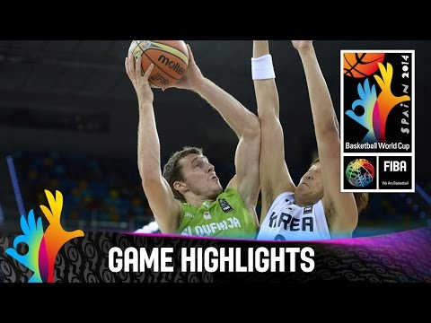 Korea v Slovenia - Game Highlights - Group D - 2014 FIBA Basketball World Cup