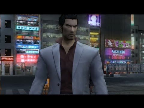 Yakuza 2 HD running on PCSX2 1.3.0