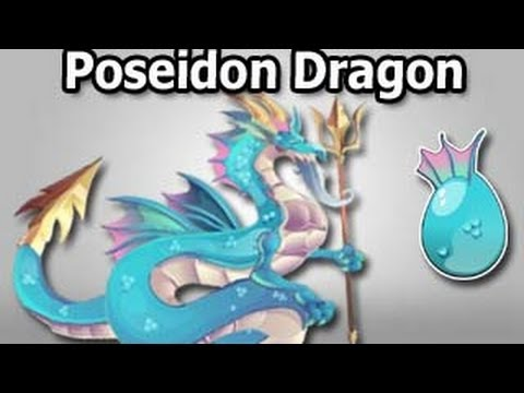POSEIDON DRAGON Olympus Island Review Dragon City Level Up Fast and Attacks