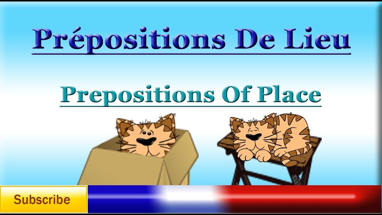 Learn French - Preposi...