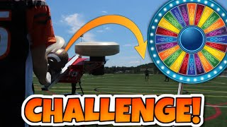 SPIN THE WHEEL NFL JUG MACHINE CHALLENGE!! (Things Got Crazy!)