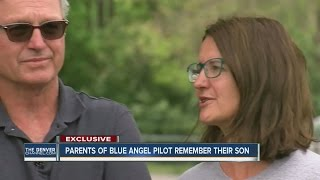 Parents of Blue Angel pilot remember late son