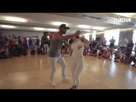 Shani and Ivo - I'm Zouk 2016 - Miami - Sunday Demo
