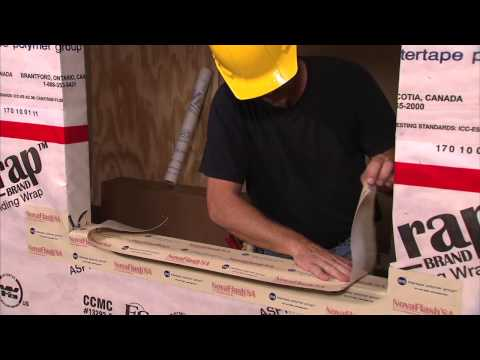 How to Install House Wrap & Window Flashing