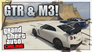 NISSAN GTR & BMW M3 In GTA 5! (GTA 5 Mod Showcase Real Life Cars) GTA 5 Mods