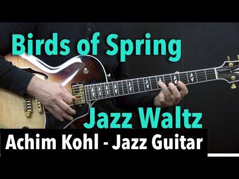 Birds Of Spring (Jazz Waltz) - Achim Kohl - Jazz Guitar + Tabs