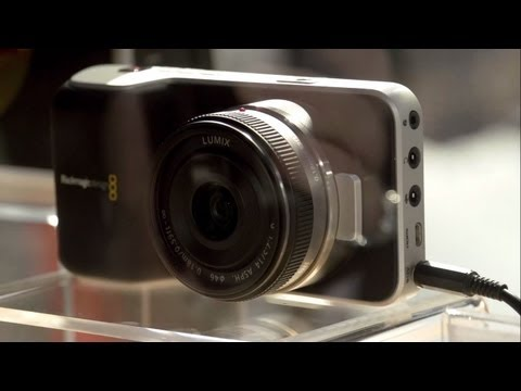 NAB 2013: Blackmagic Design 4K Cinema Camera, Pocket Cinema Camera, 6GSDI