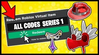 ALL ROBLOX TOY CODE ITEMS! (SERIES 1)
