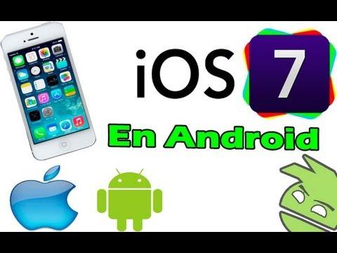 Personalización #1 iPhone  (personalización como si fuera iOS7)