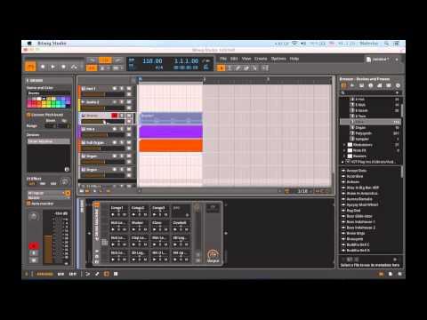 Bitwig studio обзор Track inspector