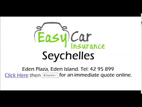 Easy Car Insurance Seychelles Radio Advert - English