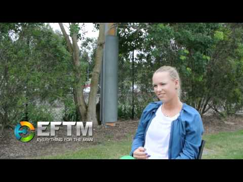 Caroline Wozniacki exclusive interview